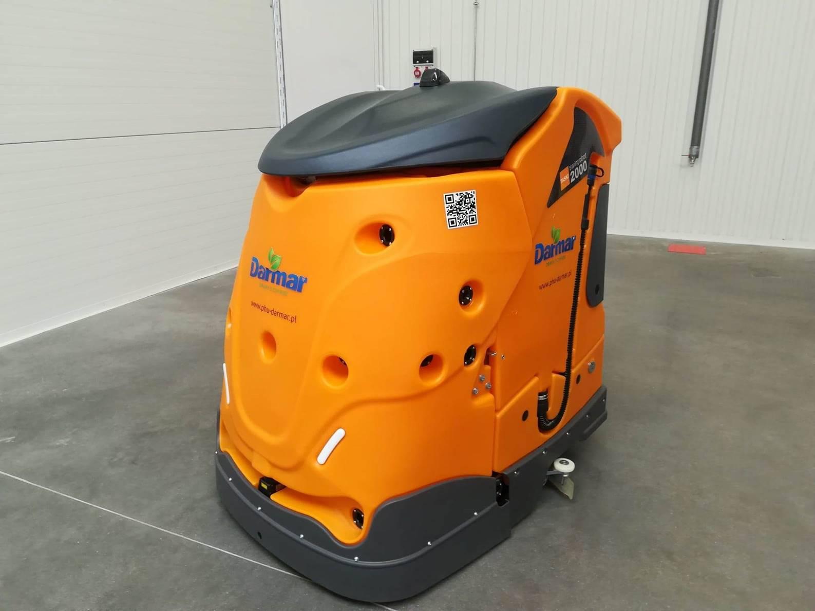 Maszyna do mycia podłóg – robot autonomiczny